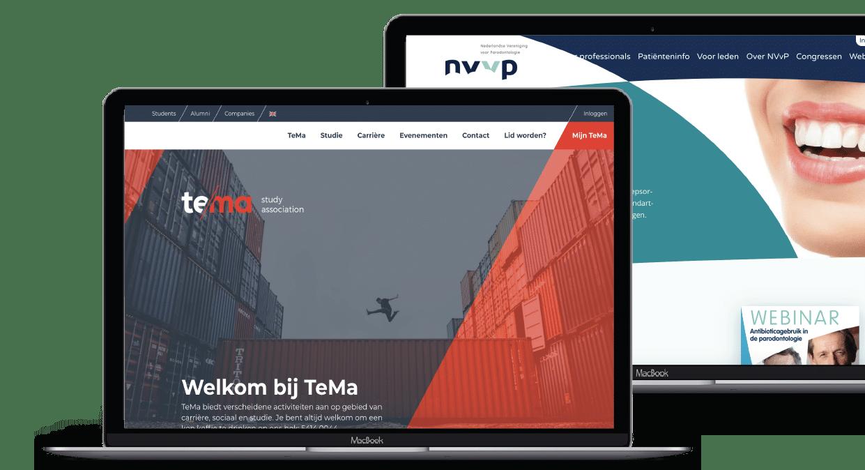 website vereniging