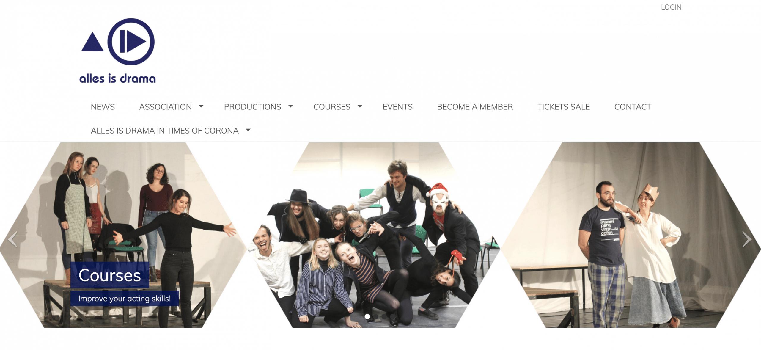 ontwerp website vereniging